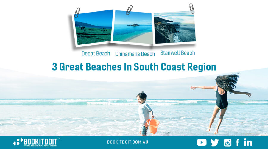 3 Great Beaches to Visit in the South Coast Region
