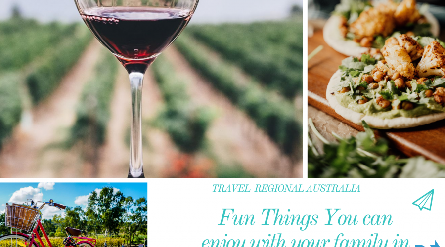 Family Fun Time in Barossa Valley
